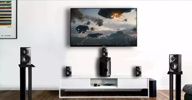 How to toss a set of 5.1 home theater?